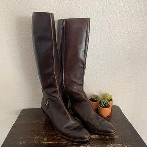 Salvatore Ferragamo   Vintage brown leather boots